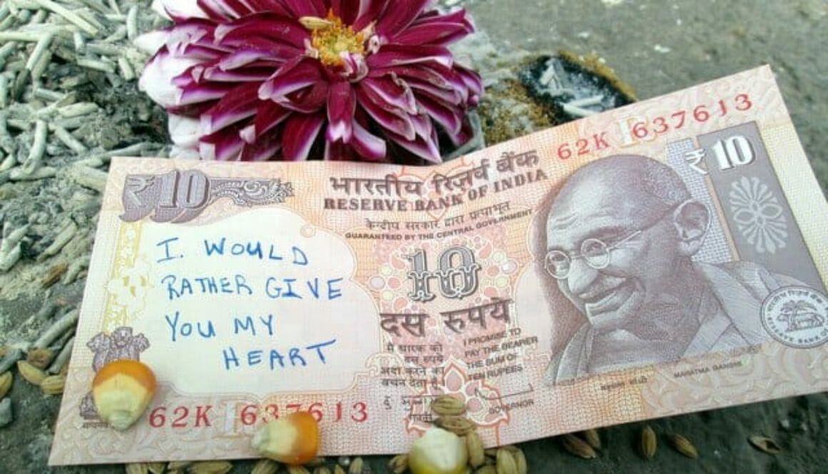 gandhi money india
