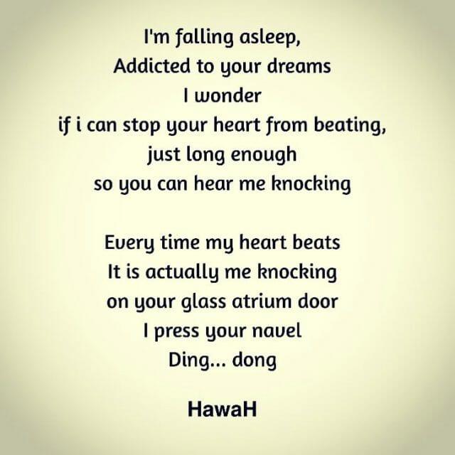 Knock knock foryou poetry heartsurgery heartart poetryflow poetryandlove