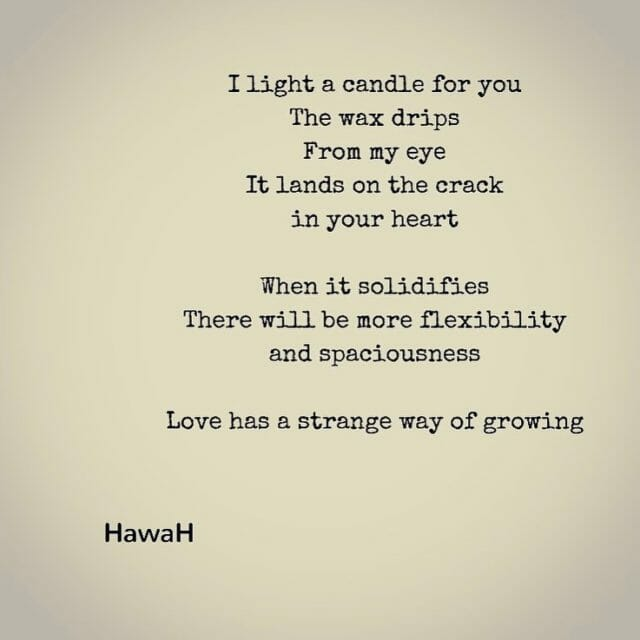 Love has a strange way of growing sometimes when youhellip
